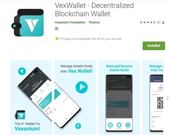 Vex Wallet Mobile
